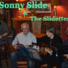 Sonny Slide and the Slidettes playing at the RCHA Club