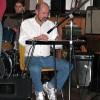Sonny Slide playing lapsteel