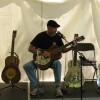 Sonny Slide giving National guitar workshop at Frankford Island Blues Festival 2011 4